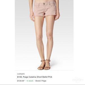 Paige Emmitt Denim Shorts